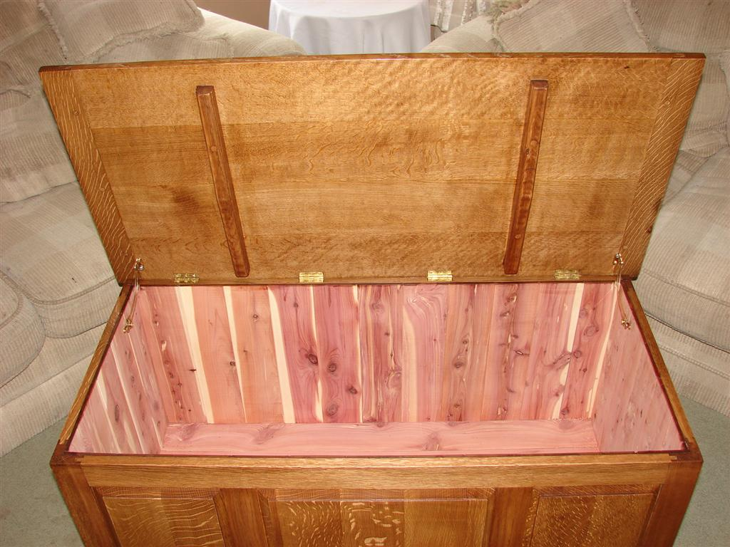 Free Wooden Blanket Chest Plans Woodideas