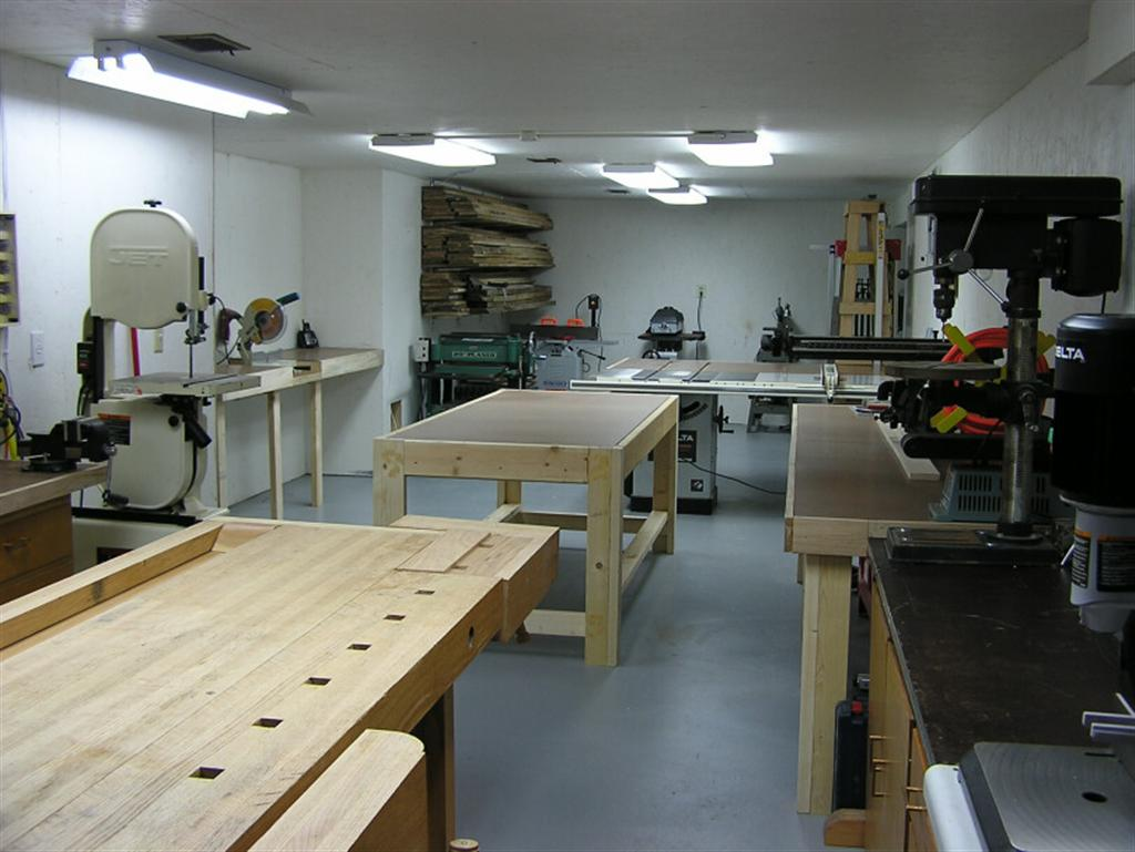 John U0026 39 S Basement Woodshop - Shop Tour