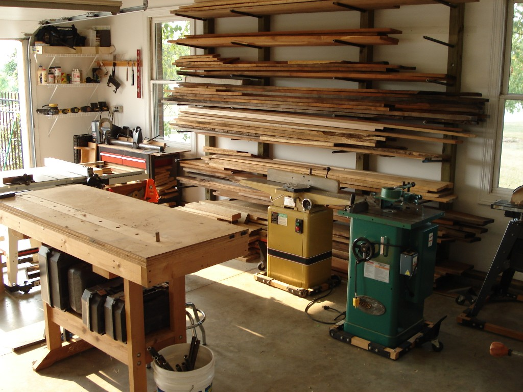 Garage Wood Shops