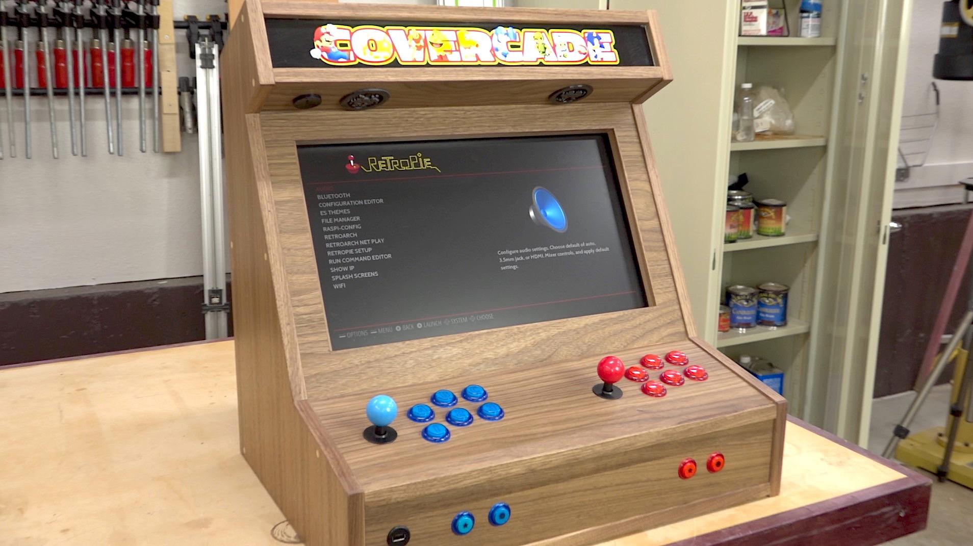 Bartop Arcade W Raspberry Pi The Wood Whisperer