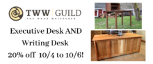 Guild Sale: Executive & Writing Desk