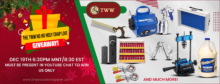 The TWW Ho Ho Holy Crap Giveaway!