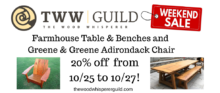 Guild Sale: Outdoor Furniture