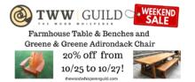 Guild Sale: Outdoor Furniture