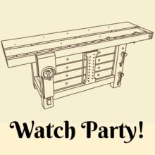 Watch Party - Under Workbench Cabinet