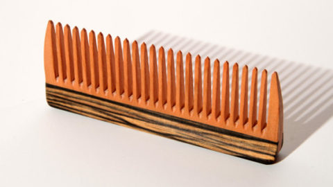 Cherry Wooden Comb