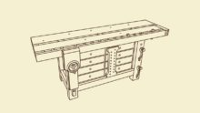 Under Workbench Cabinet Leaves Pre-Order