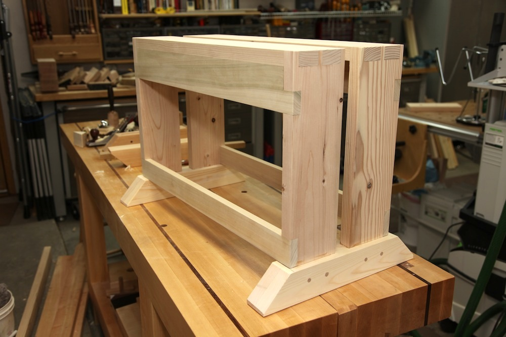 Brian S Improved Saw Bench The Wood Whisperer