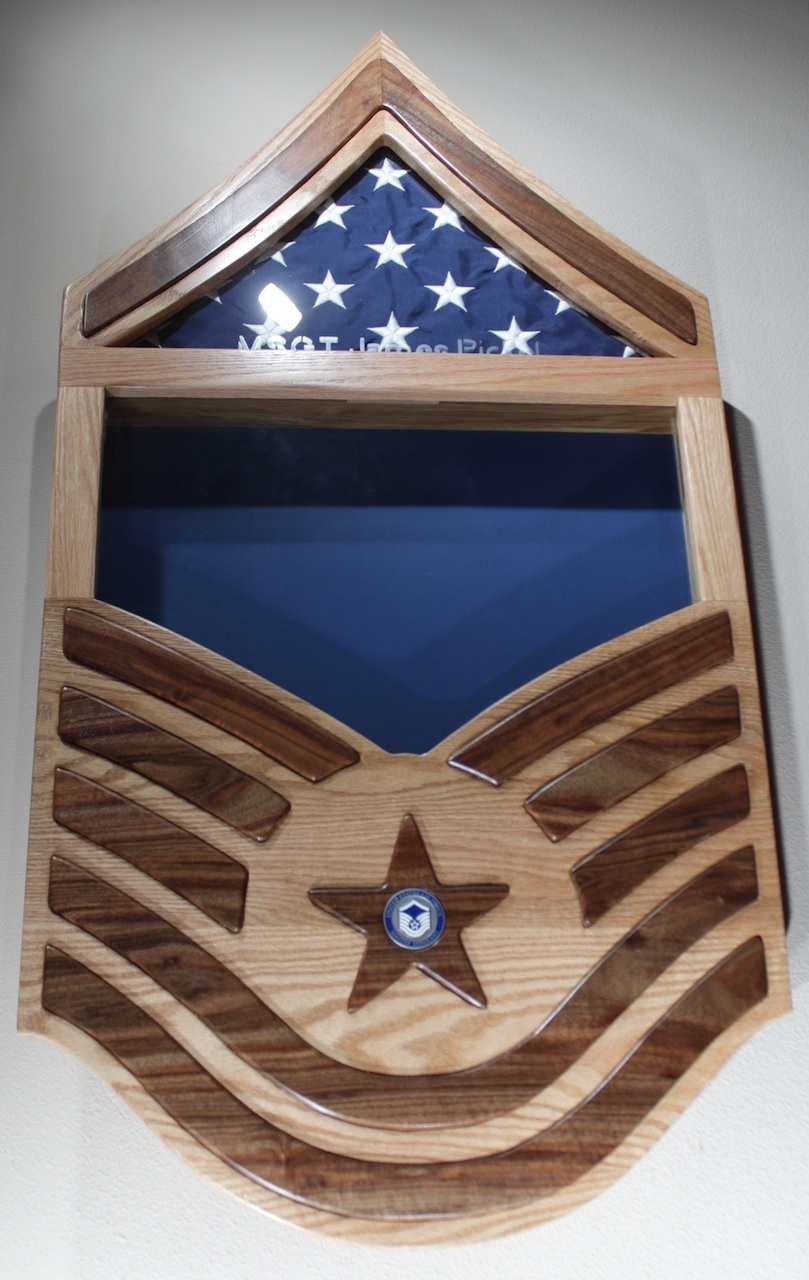 Chet's Air Force Shadow Box - The Wood Whisperer