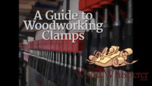 12 A Guide To Woodworking Clamps The Wood Whisperer