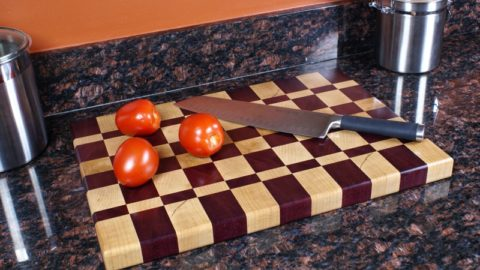 Butcher Block End Grain Cutting Board