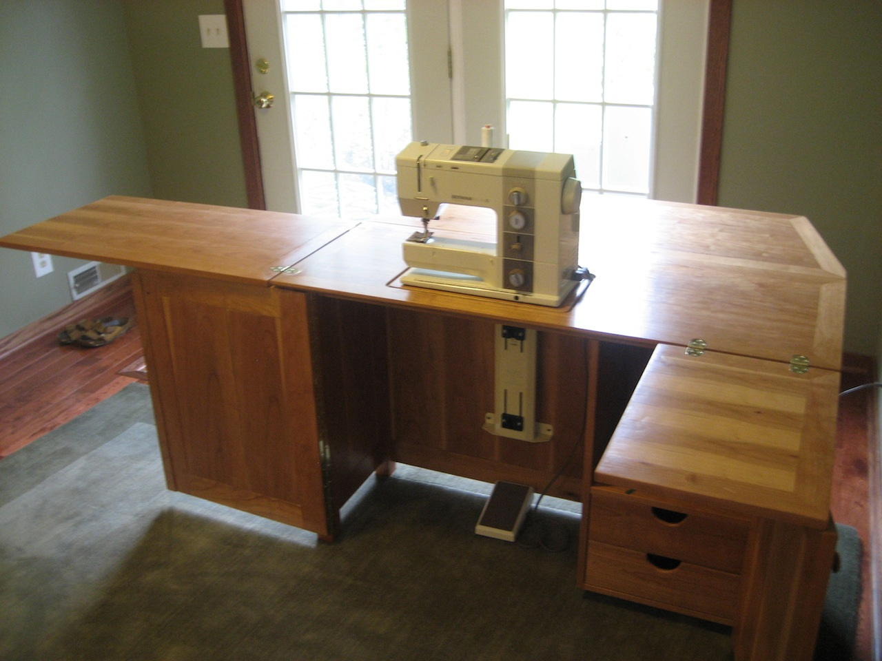 Dave S Sewing Cabinet The Wood Whisperer