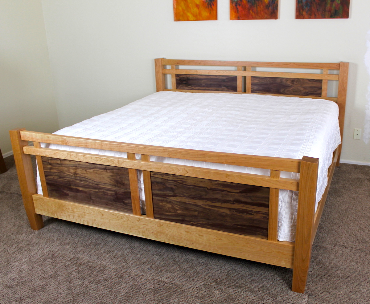 260 King Size Bed The Wood Whisperer