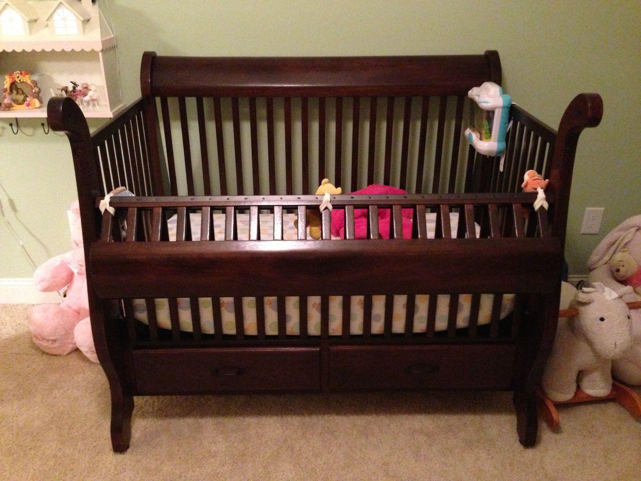 - Mark's Sleigh Crib - The Wood Whisperer