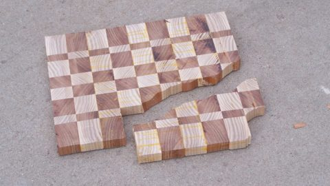 End Grain Through The Planer Damage