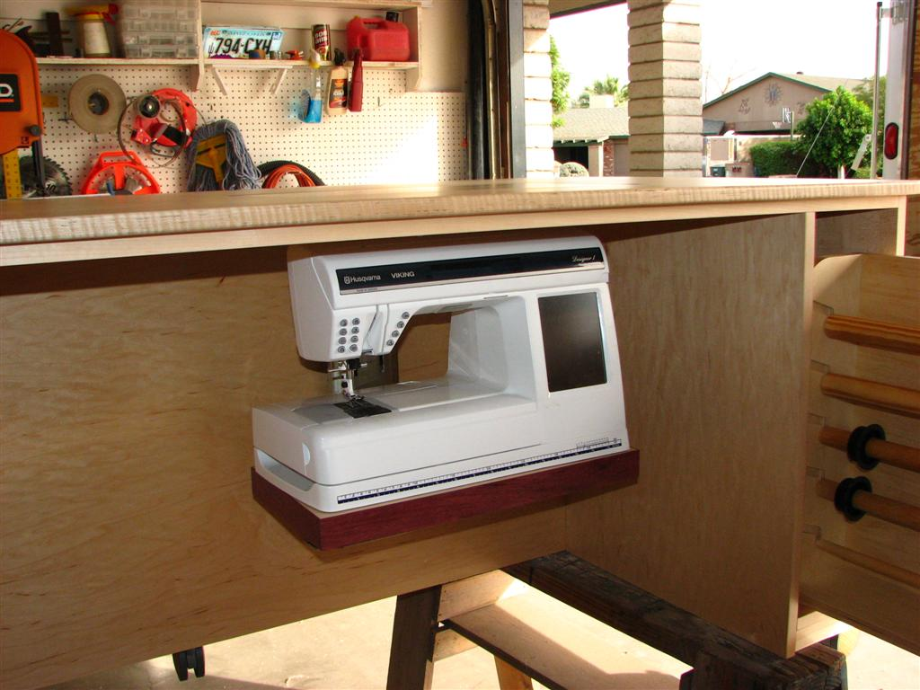 Not Your Average Sewing Table The Wood Whisperer