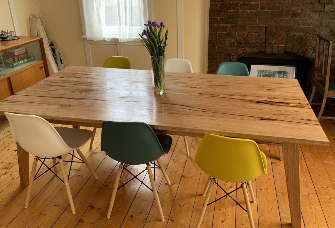 Picture of: Mid Century Modern Dining Table The Wood Whisperer